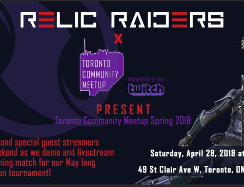 Relic Raiders Live Tournament in May!